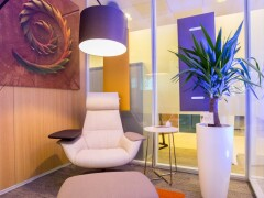 Blue Business Interior iroda - Az élő irodatér labor