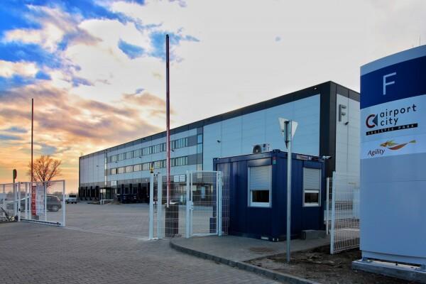 Airport City Logisztikai Park E-F csarnok