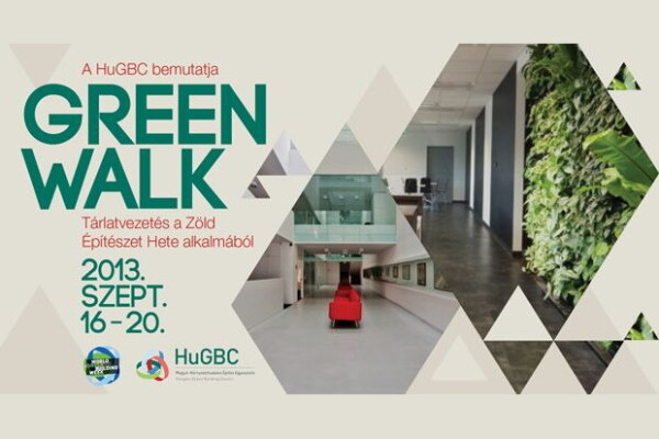 Green Walk - tárlatvezetés a Zöld Építészet Hete alkalmából