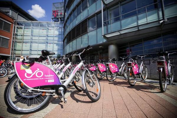 TeleBike - Munkatársi kerékpárkölcsönző rendszer a Magyar Telekom irodaházainál
