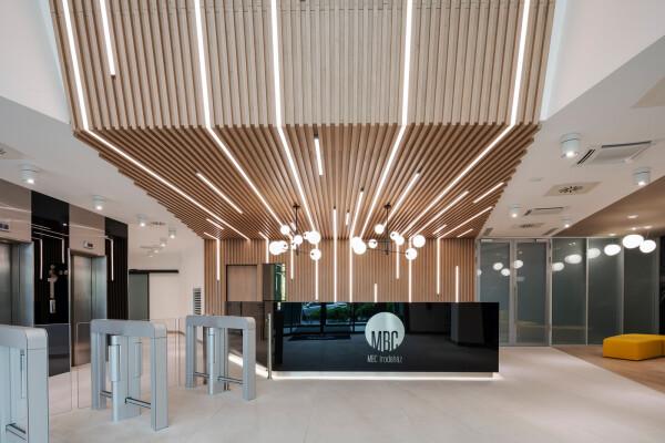 MBC Irodaház  - Lobby