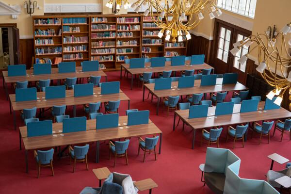 Debreceni Egyetem Nagykönyvtári olvasóterem