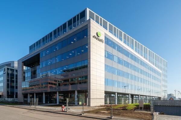 Siemens-evosoft székház