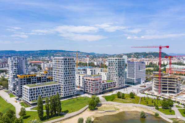BudaPart Otthonok 'B' és 'D' épület