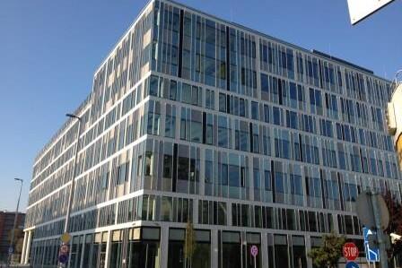 Váci Greens - A épület