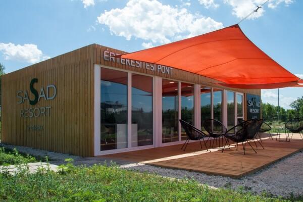 Sasad Resort konténeriroda